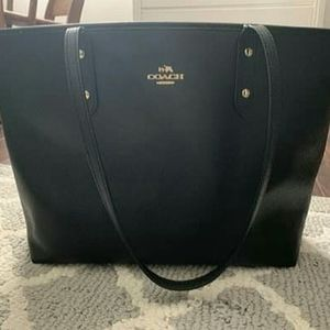 Coach City Leather Zip Tote